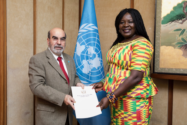Ambassador Credentials Presentation to FAO