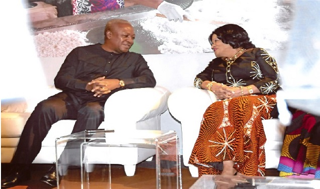 H.E John Dramani Mahama president of Republic of Ghana in Italy